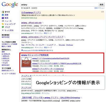 Googleショッピングを制する者は、Googleをも制する?