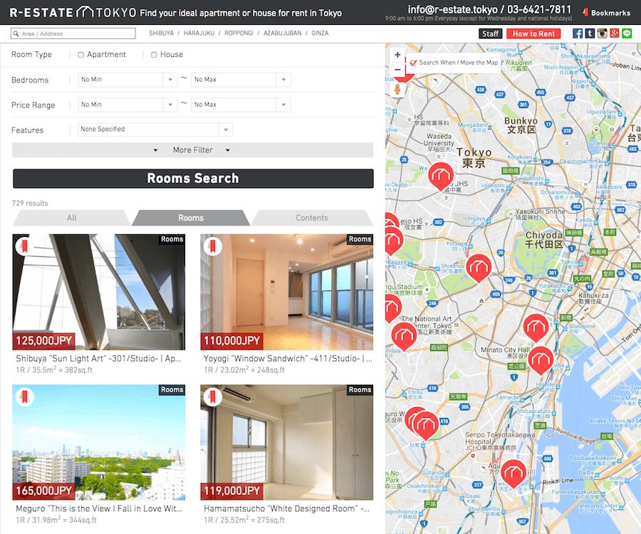 Googleマップ連動不動産物件検索サイト