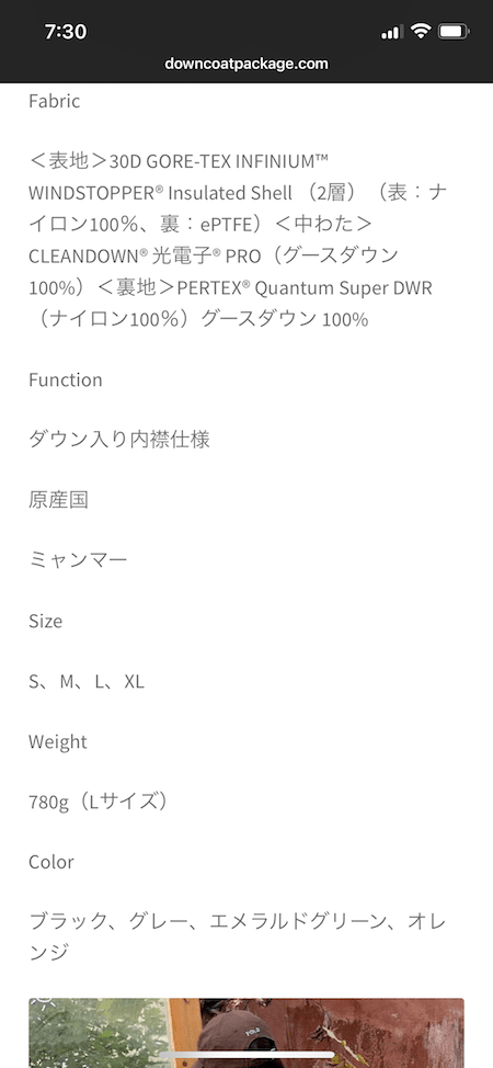 FASHIONSNAP.COMでブランドコピー品の広告が表示されていた
